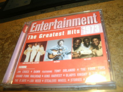 cd-greatest hits-1973-the o`jays-war-four tops-sweet-jim croce&more!look!rock-used-ex