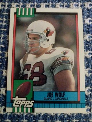 Topps #443 Joe Wolf