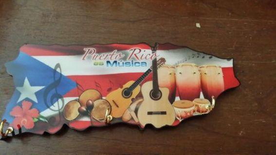 Puerto Rico Wall Mounted Key Holder