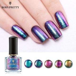BORN PRETTY Magic Nail Polish Gypsy Nail Polish Water Series Shining Glitter Sequins Nail Art Varn