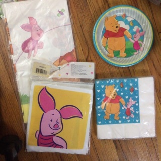 Winnie the Pooh party supplies bundle