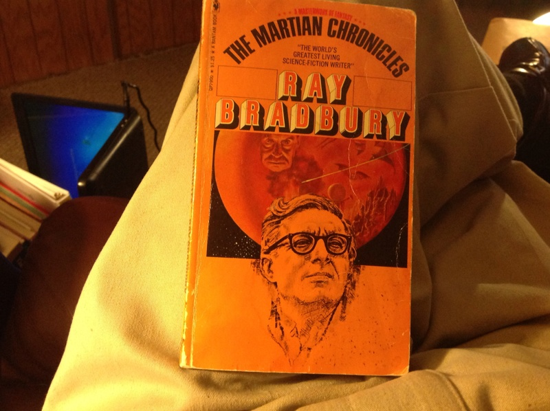 if science advances too quickly in the martian chronicles by ray bradburry