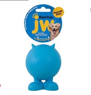 20% OFF! JW Pet Company Bad Cuz Dog Toy, assorted colors,Medium