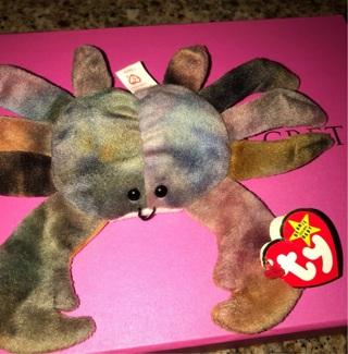 RARE- Claude the crab beanie- W/TAG ERRORS