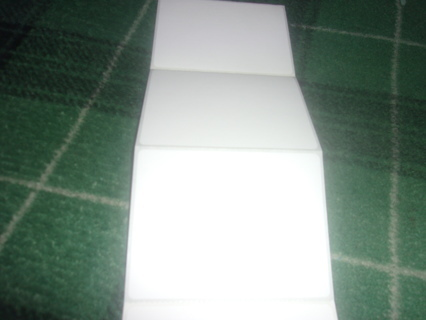 25 MAILING LABELS 3 X 4 INCHES