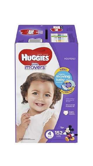 Huggies Little Movers Size 4 152 ct.