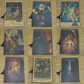 Star Wars Darth Vader Storm Trooper YODA Poster Kraft Paper Decor Poster