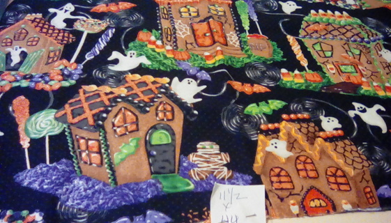 Fabric - GINGERBREAD HOUSE 1 piece