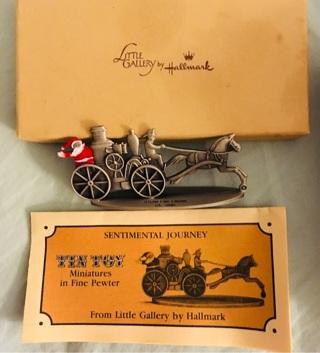 Little Tin Toy Engine Collectible by Hallmark