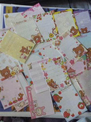 20 Random Kawaii Mini Memo Sheets