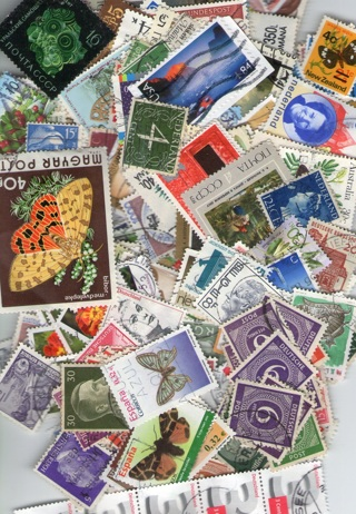 50 Worldwide Stamps Grab Bag Pack