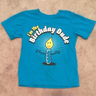 3T Birthday Dude T Shirt Childrens Place