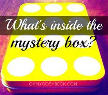 MYSTERY Box #2 There are some pictures of just some of the things in the mystery box...WAIT FOR IT!