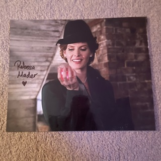 Rebecca Mader autographed 8x10 photo