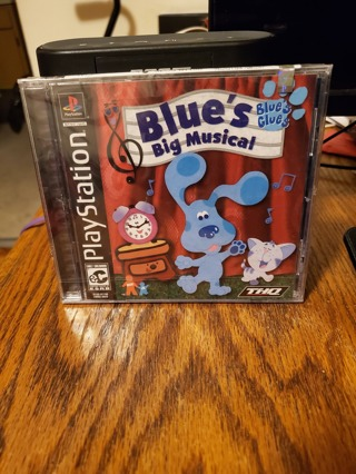 Blue's Big Musical PS1 Brand New Factory Sealed
