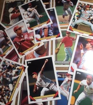 18 Assorted Reds Cards! 92,93,94!