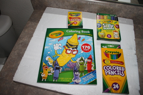Free: CRAYOLA LOT,(2) BOOK ,MARKERS ,PENCILS, CRAYONS - Games ...