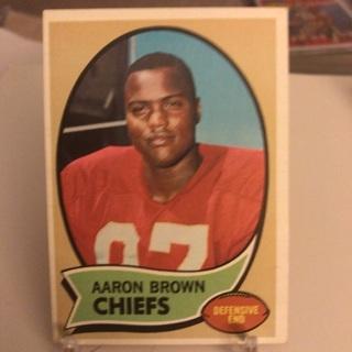 1970 Topps Aaron Brown Card