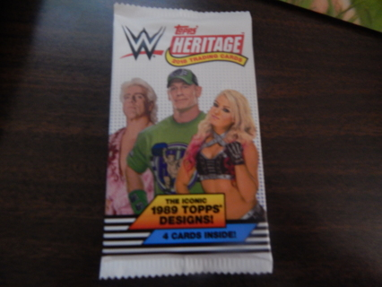 "COLLECTABLE ""WRESTLING Cards""  2018-HERITAGE-New!"