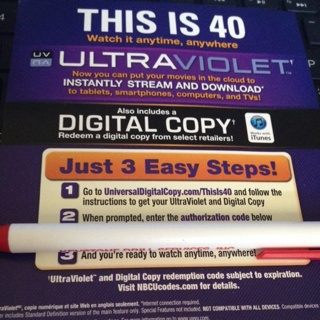 Free: This Is 40 HD iTunes Only Code from UV Bluray - Other DVDs