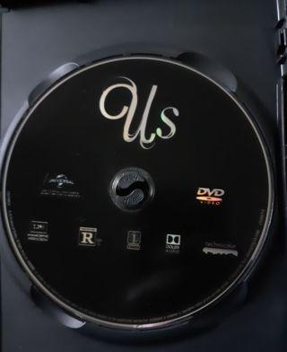 US MOVIE DVD DISC ONLY STARRING Jordan Peele