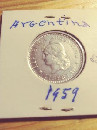 1959 Argentina 1 Peso! 82