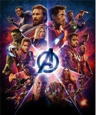 5D DIY Diamond Painting The Avengers Marvel Infinity War Embroidery Mosaic Cross