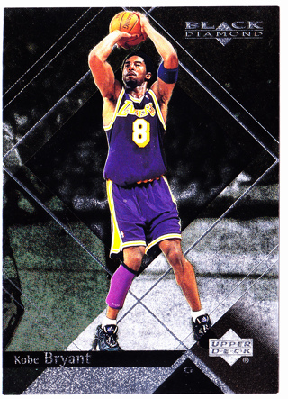 1999-2000 UD Black Diamond Kobe Bryant