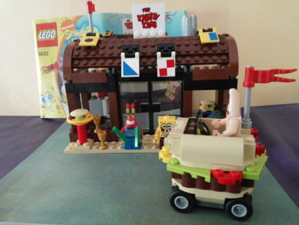 Free Lego Sponge Bob Krusty Krab Adventures Burger Shop Building