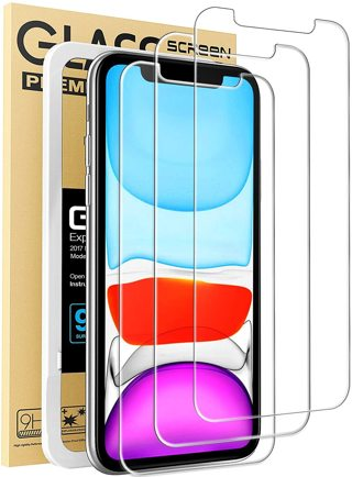 Tempered Glass Film iPhone XR Screen Protector, IPhone 11 Screen protector