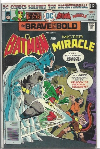 Bat-Man #128 The Brave and The Bold DC Comics