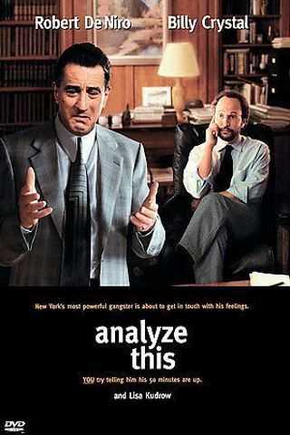 Analyze This (DVD, ⭐DISC ONLY⭐Robert De Niro, Billy Crystal