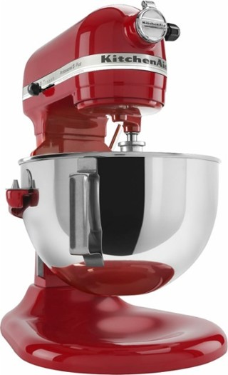 KitchenAid - KV25G0XER Professional 500 Series Stand Mixer - Empire Red, Onyx Black, or Silver