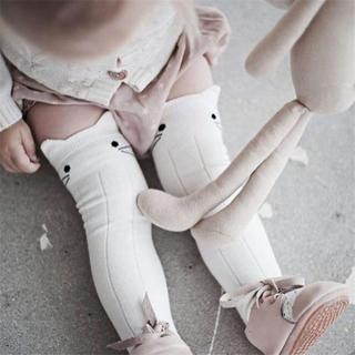 BalleenShiny Cotton Baby Socks Animal Printed Knee High Socks Kids Boy Girl Socks Anti Slip Cute C