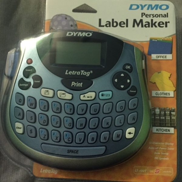 Dymo Label Maker Instructions