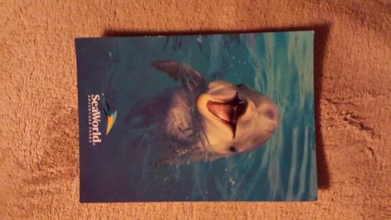 sea world postcard