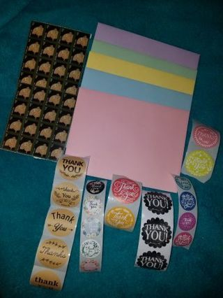 ☀️❣☀️SHIPPING SUPPLIES ❣☀️❣ENVELOPES☀️❣☀️ THANK YOU STICKERS❣☀️❣ STAMPS❣☀️❣FREE SHIPPING