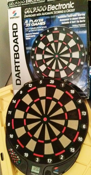 1 Electronic Dart Board Games Toys Hobbies Sports