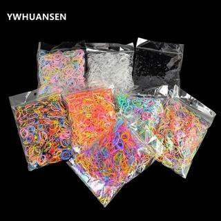 YWHUANSEN About 1000pcs/bag (small package) New Child Baby TPU Hair Holders Rubber Band Elastics G