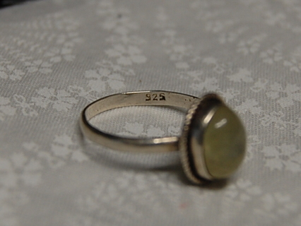 Sterling Silver Ring - Size 8