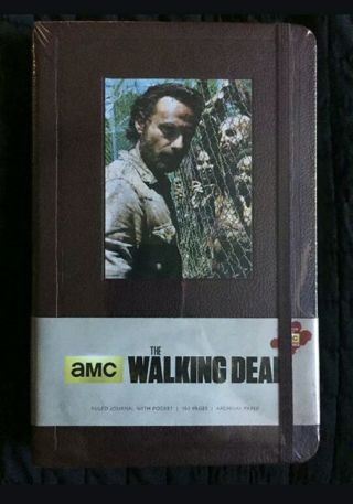 The Walking Dead Rick Grimes Fan Journal
