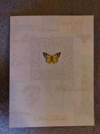 Brand New Thank You Card With Envelope