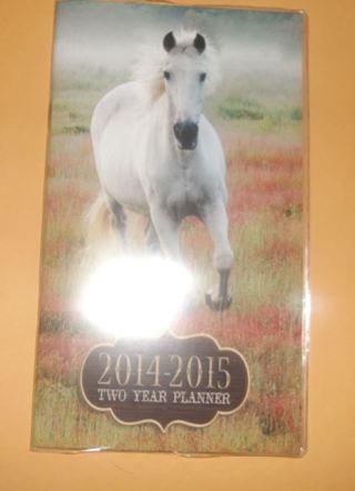 Brand New - Horsey 2014 - 2015 Planner!!