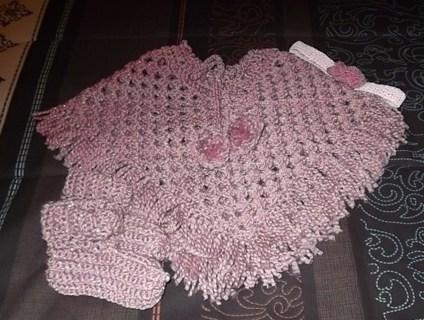 Free: Baby Poncho set PDF Crochet Pattern - Crochet - Listia.com ...