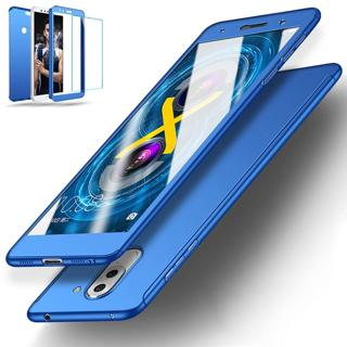 For Huawei Mate 20 10 9 Lite,P20 Lite 360° Full Cover Hybrid Case+Tempered Glass