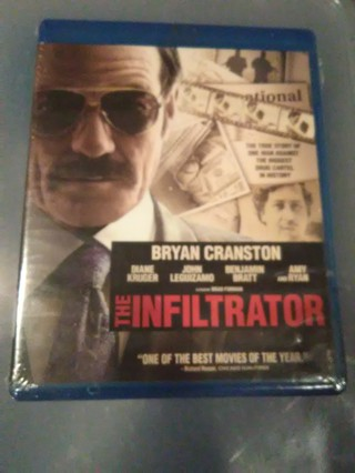 The Infiltrator new on bluray