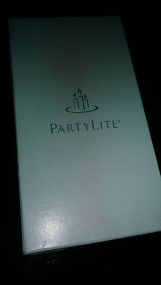"PARTYLITE PILLAR CANDLE- NIB- MULBERRY- 3"" X 5"""