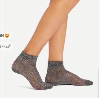 Glitter socks