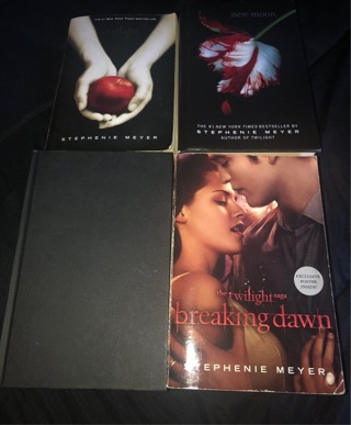 Twilight book collection