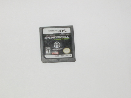 DS game Splinter Cell
